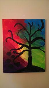 Tree fiery