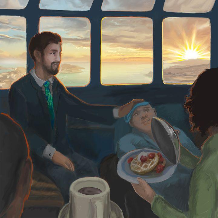 Dr. Breslin's Breakfast on the Train - Jonathan Brice Lyman