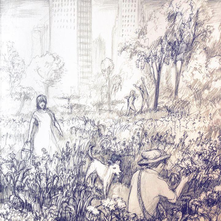 City Garden - Jonathan Brice Lyman