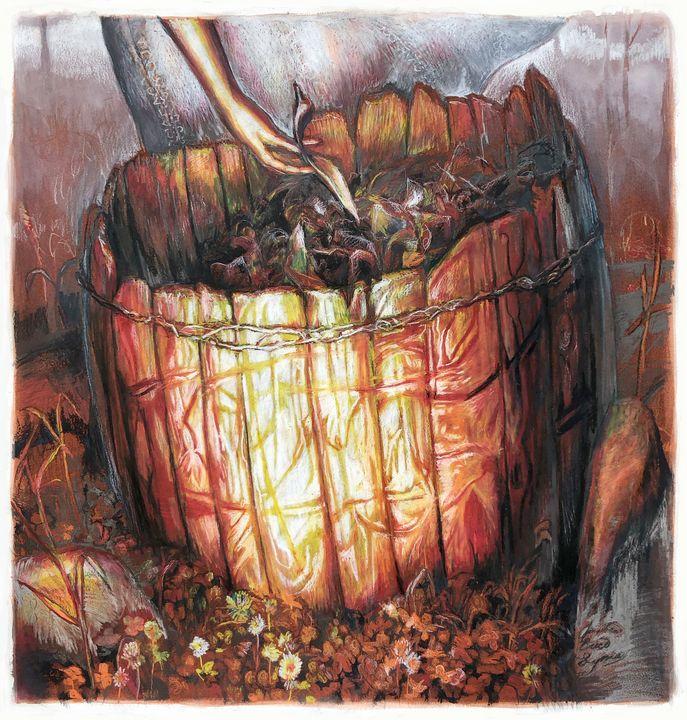 Compost Pumpkin - Jonathan Brice Lyman
