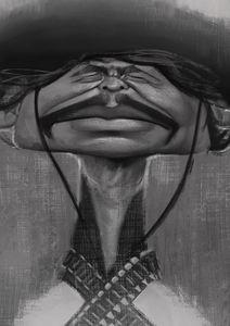 Bronson Caricature