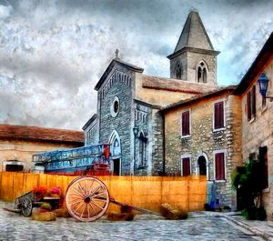 Castello Before a Summer Storm