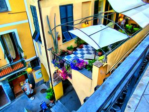 Cinque Terre Balcony View