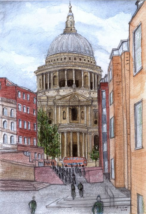 Saint Paul's Cathedral London - Art and Architecture