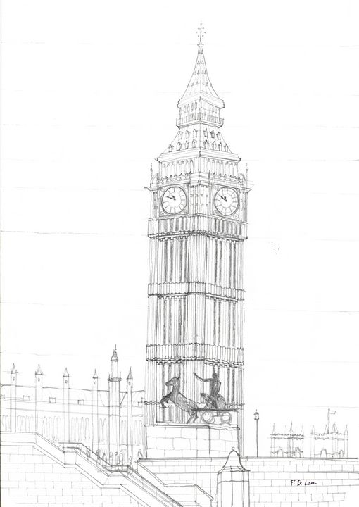 Big Ben London - Art and Architecture