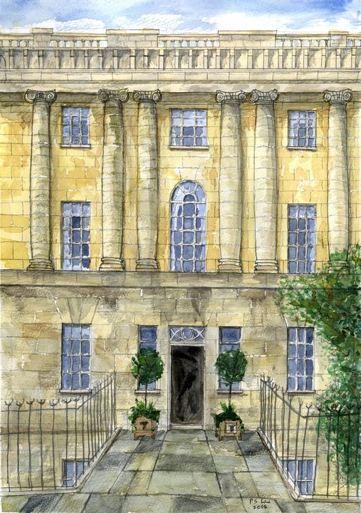 Terrace House, Royal Crescent, Bath - Art and Architecture
