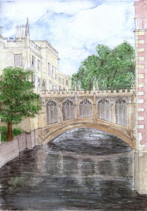 Bridge of Sigh, Cambridge - Art and Architecture