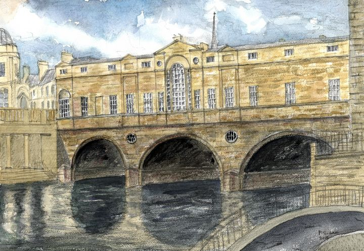 Pulteney Bridge, Bath - Art and Architecture