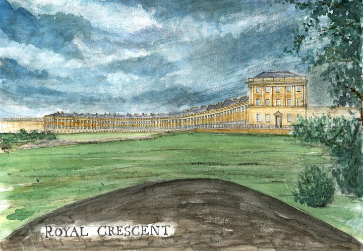 Royal Crescent, Bath - Art and Architecture