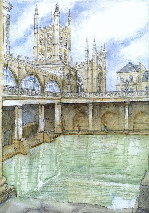 Roman Baths, Bath - Art and Architecture