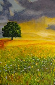 Sunrise over Flowery Field ORIGINAL