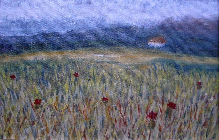 Alone in Field ORIGINAL - annabrazao
