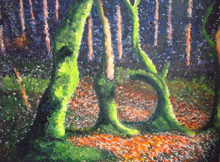 Fluorescent Forest ORIGINAL - annabrazao