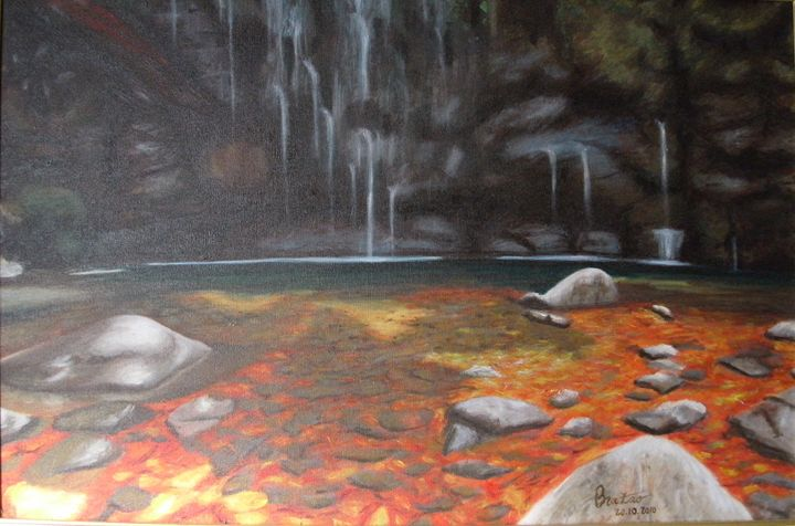 Waterfall Seven Falls ORIGINAL - annabrazao