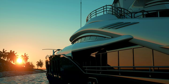 Mega Yacht Luxury Vacation - limbitech