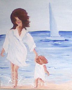 Walk by the seaside
