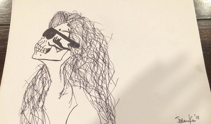 Tanning the dead - Sedona's Art