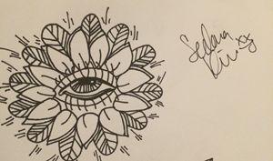 Center eye - Sedona's Art