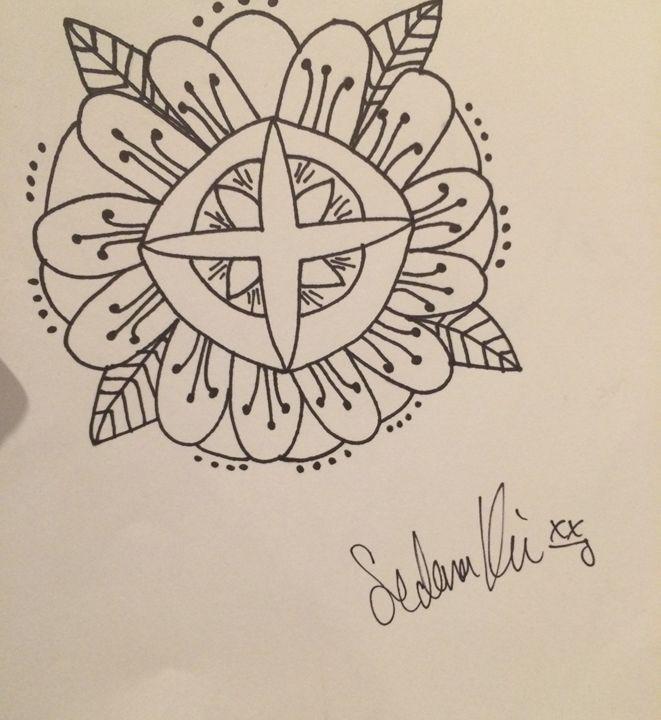 Tribal compass - Sedona's Art