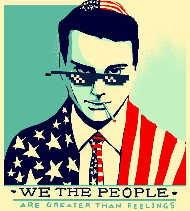 #88 Glasses - Ben Shapiro Thug Life