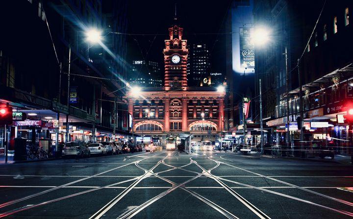 Flinders Street - Stephen Seago