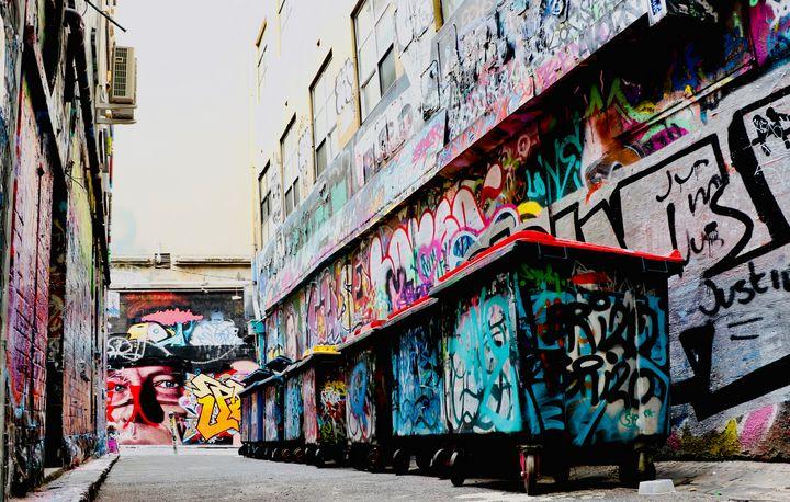 Hosier Lane Art - Stephen Seago