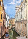 Original painting watercolor