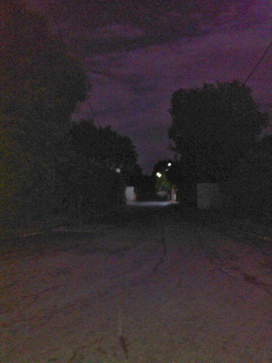 Purple road - Road Trip