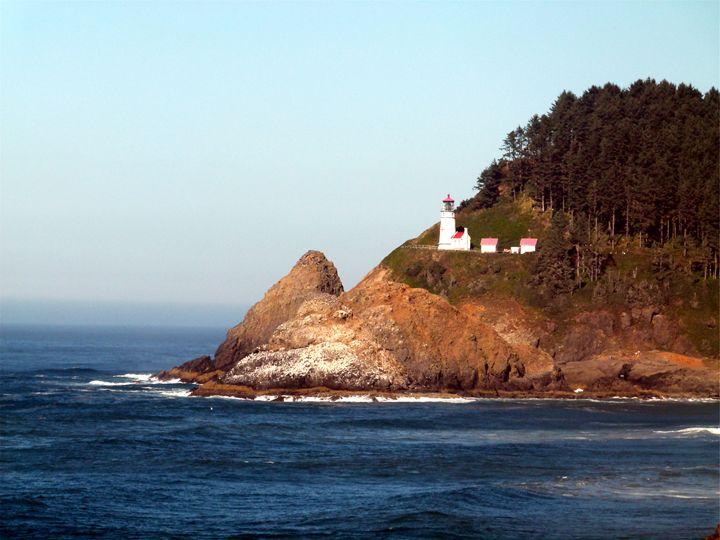 Haceta Head Lighthouse - Kimberly's Kreations