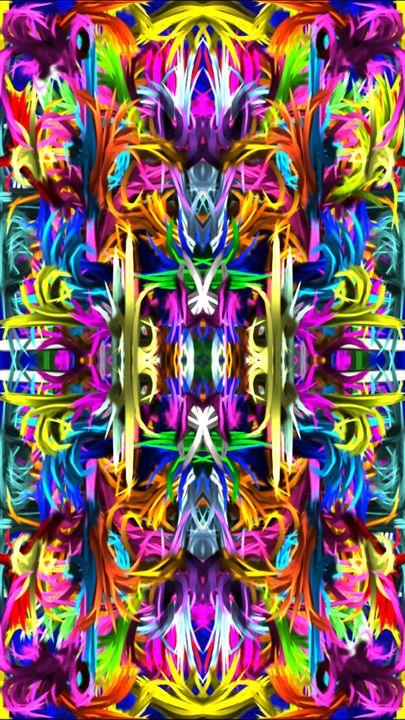 Flower Garden Abstractified - Samuel Kraus
