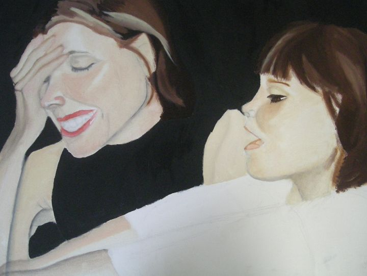 Daughter and Mother - Francesca Smith Art
