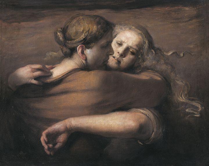 Embrace - Odd Nerdrum