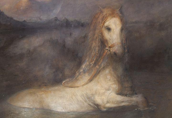 Horse bath - Odd Nerdrum