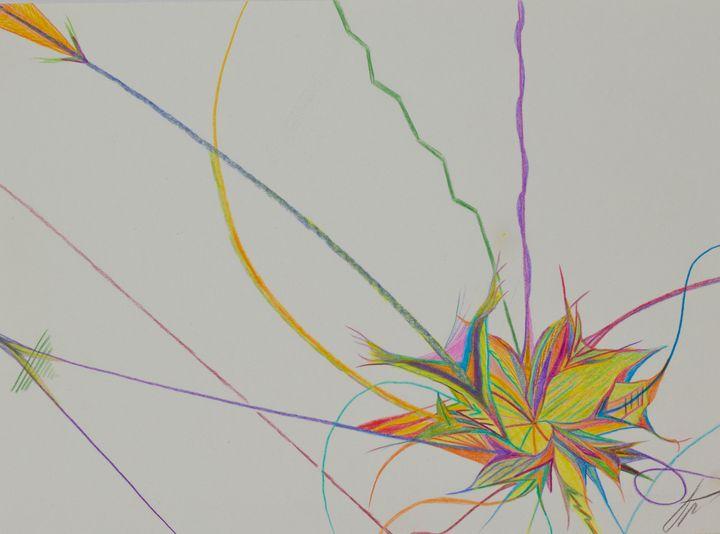 Arrow flower - Dean Abstract