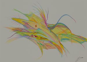Bird and Fish - Dean Abstract