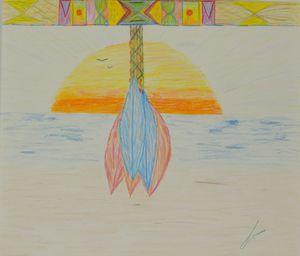 American Indian Sunrise