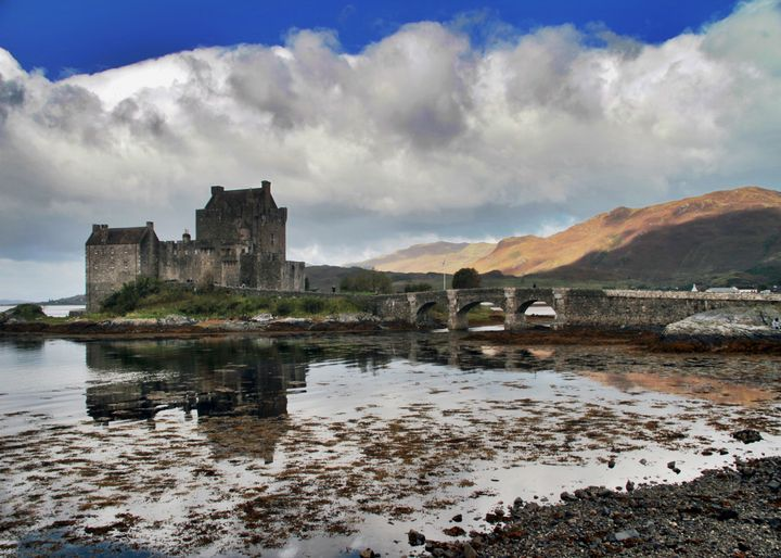 Eilean Donan Castle - Highlands - Dave's Art