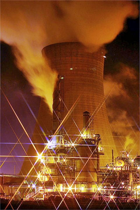 Saltend Cooling Tower - Dave's Art