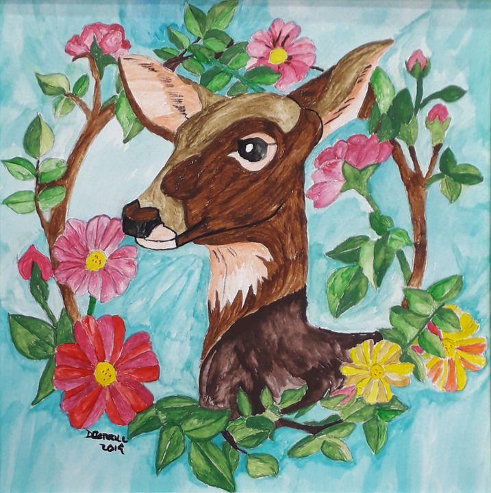 Deer Garland - Dave's Art