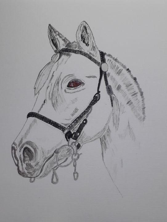 Watercolour Horse - Dave's Art