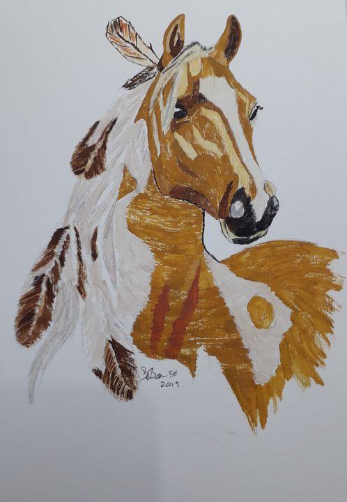 Indian Pony - Dave's Art