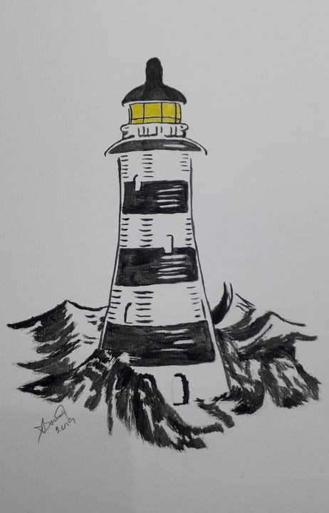 The Lighthouse - Dave's Art
