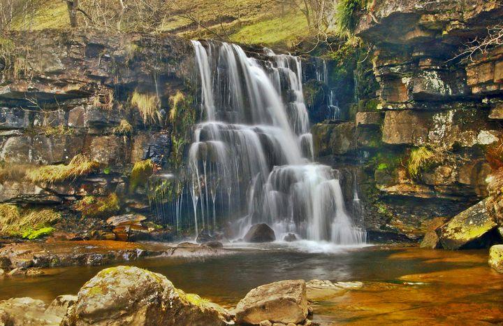 Upper East Gill Falls, UK - Dave's Art