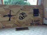 "24x48"" wooden panel"