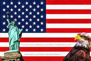 Lady Liberty & the Flag