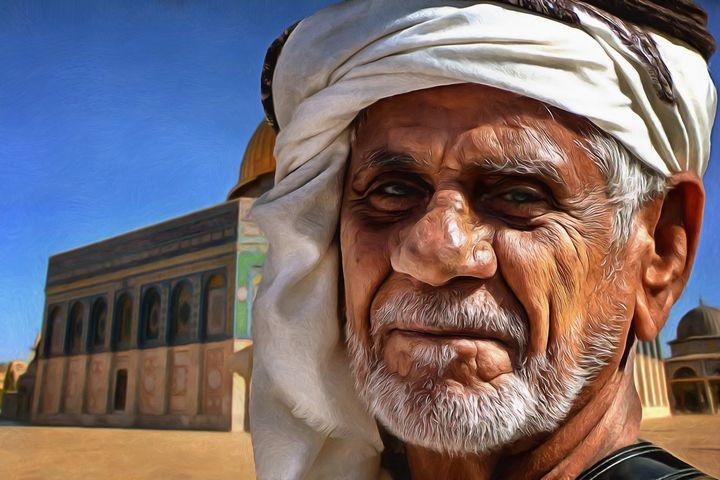 Arabian Brother | Dome on the Rock - Joseph Wall Art