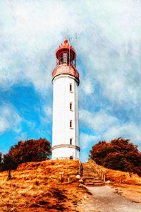 Redtop Lighthouse by W Joseph