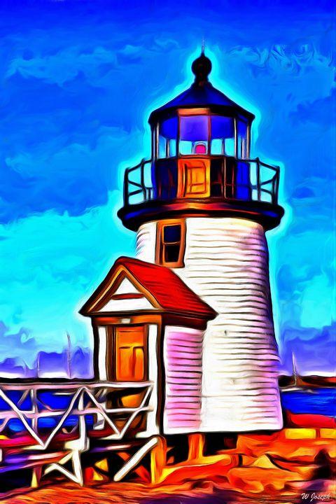 Lighthouse - Joseph Wall Art
