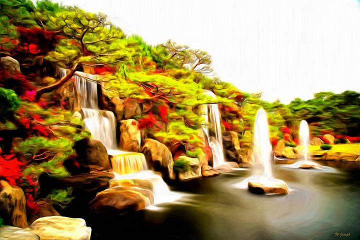 Azalea by W Joseph - Joseph Wall Art
