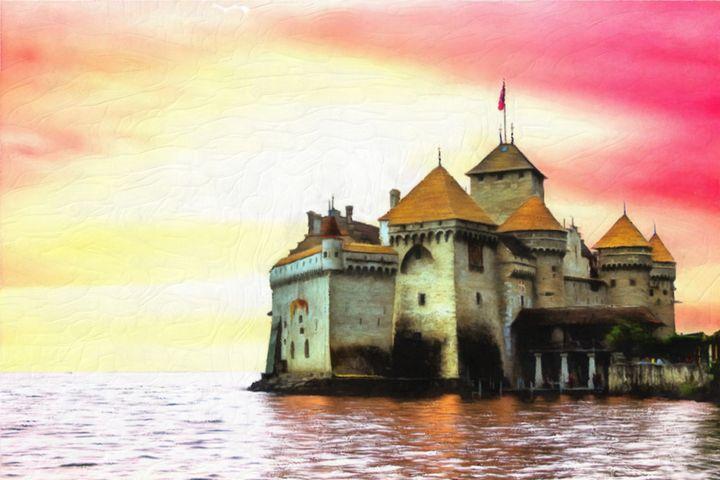 Castle by the Sea - Joseph Wall Art